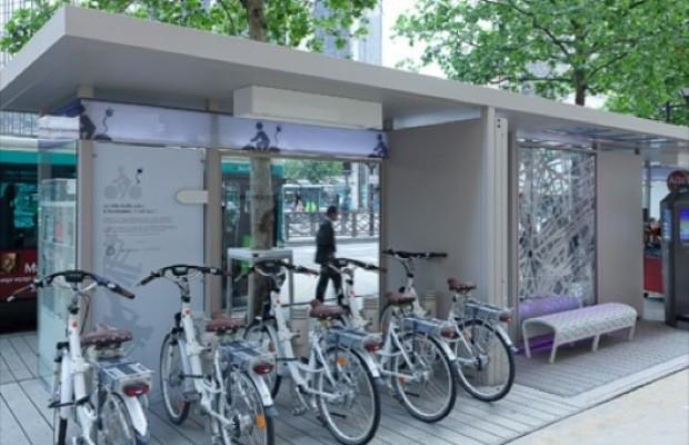 Paris Experimental Bus Stop 2